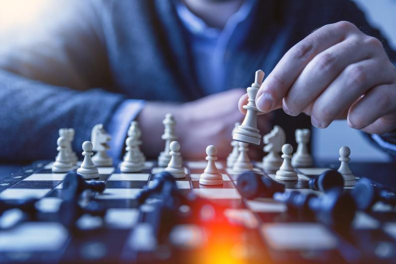 games help you think strategically